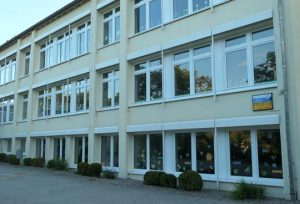 school building in Germany